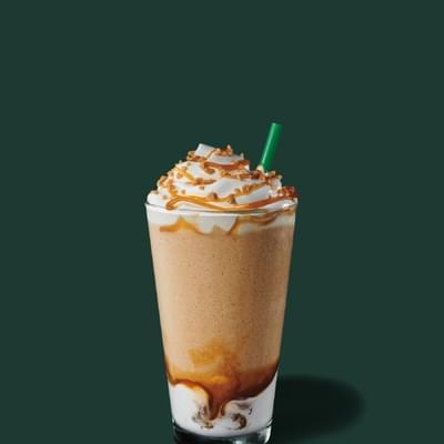 Starbucks Caramel Ribbon Crunch Frappuccino Nutrition Facts