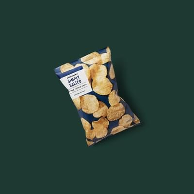 Starbucks Simply Salted Kettle Potato Chips Nutrition Facts