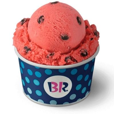 Baskin-Robbins Watermelon Splash Ice Nutrition Facts