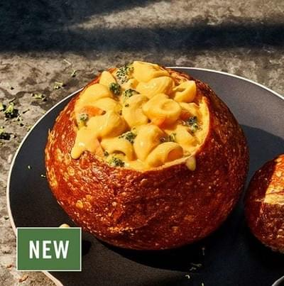 Panera Bread Bowl Broccoli Cheddar Mac & Cheese Nutrition Facts