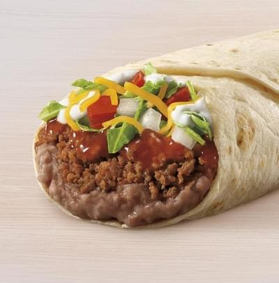Taco Bell Burrito Supreme – Beef Nutrition Facts