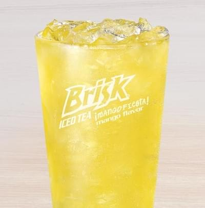 Taco Bell Large Brisk Mango Fiesta Nutrition Facts