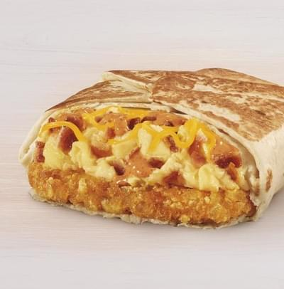 Taco Bell Breakfast Crunchwrap - Steak Nutrition Facts