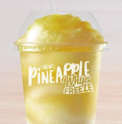 Taco Bell Regular Pineapple Whip Freeze Nutrition Facts