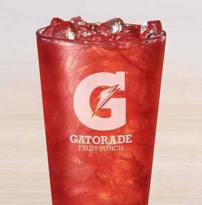Taco Bell Medium Gatorade G2 Fruit Punch Nutrition Facts