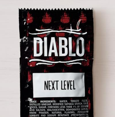 Taco Bell Diablo Sauce Nutrition Facts