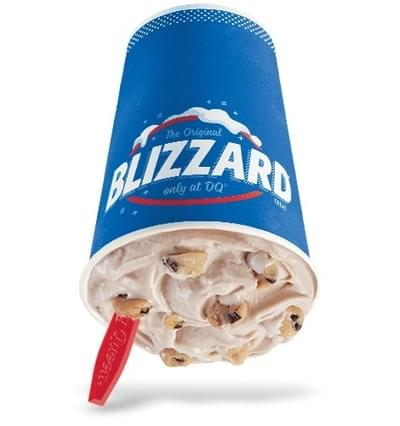 Dairy Queen Small Chocolate Chip Cookie Dough Blizzard Nutrition Facts