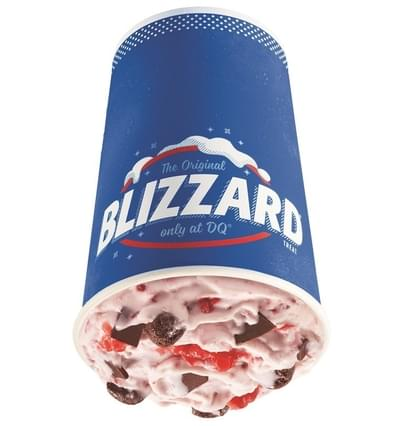 Dairy Queen Medium Raspberry Fudge Bliss Blizzard Nutrition Facts