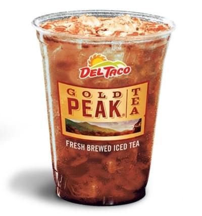 Del Taco Iced Tea Nutrition Facts