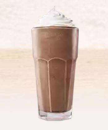 Burger King Chocolate Milk Shake Nutrition Facts