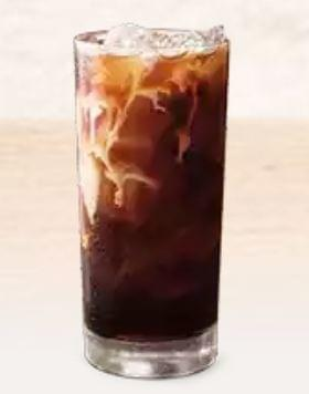 Burger King Mocha Iced Coffee Nutrition Facts
