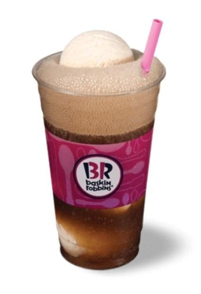 Baskin-Robbins Barq's Root Beer Float Nutrition Facts
