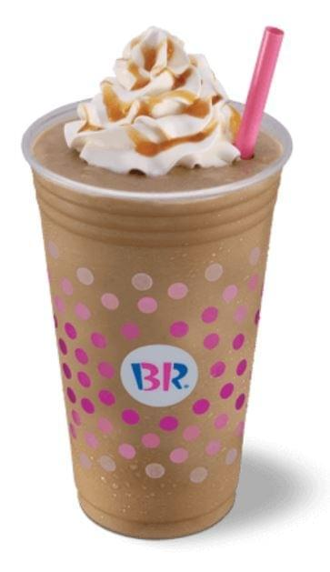 Baskin-Robbins Large Caramel Cappuccino Blast Nutrition Facts