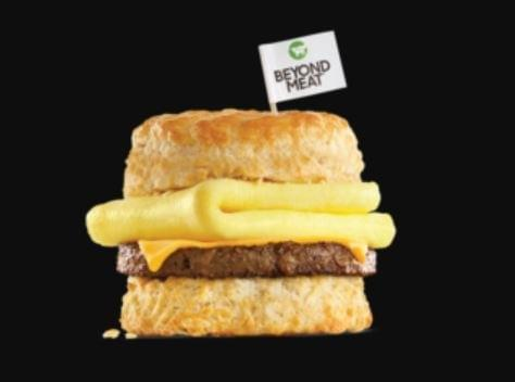 Carl's Jr Beyond Sausage Egg & Cheese Biscuit Nutrition Facts