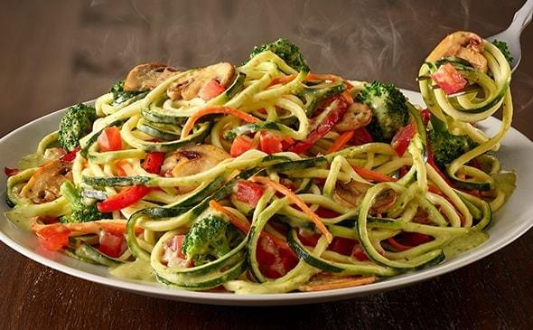 Olive Garden Zoodles Primavera Nutrition Facts