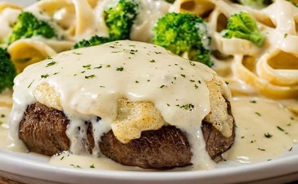 Olive Garden Parmesan-Alfredo Crusted Sirloin Steak Nutrition Facts