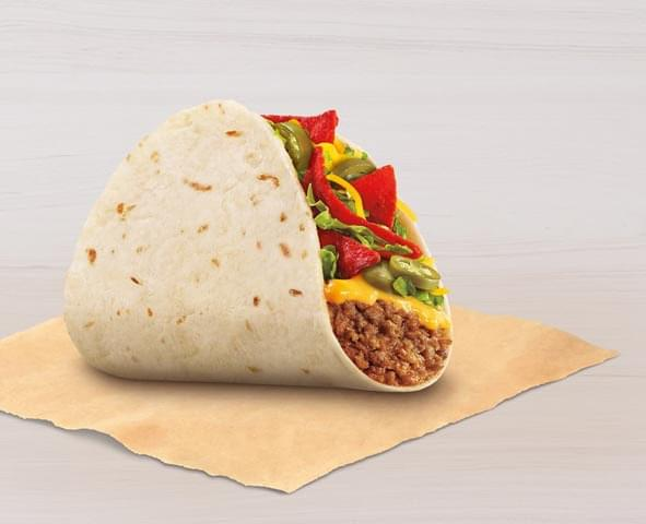 Taco Bell Spicy Loaded Nacho Taco Nutrition Facts
