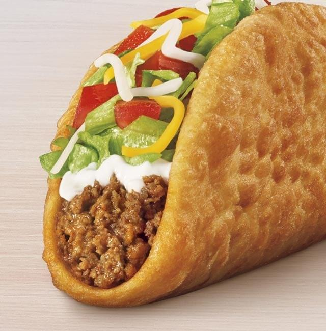 Taco Bell Chalupa Supreme – Beef Nutrition Facts
