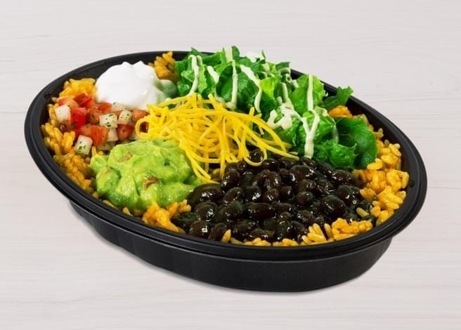 Taco Bell Veggie Power Bowl Nutrition Facts