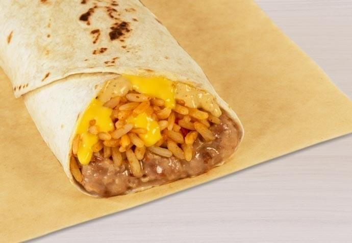 Taco Bell Cheesy Bean and Rice Burrito Nutrition Facts