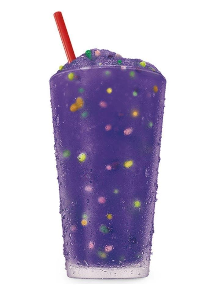 Sonic Medium Grape Nerds Slush Nutrition Facts