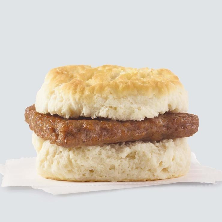 Wendy's Sausage Biscuit Nutrition Facts