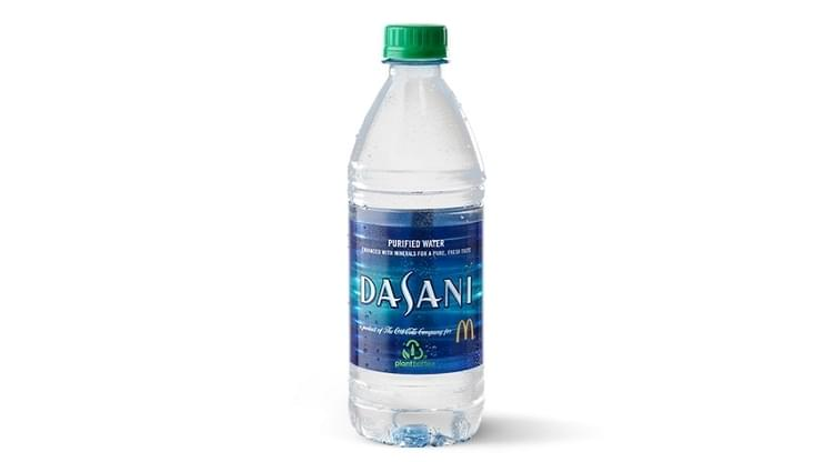McDonald's Dasani© Water Nutrition Facts