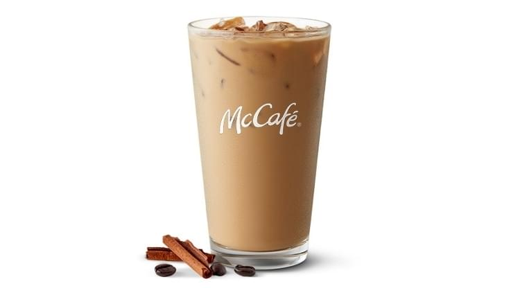 McDonald's Iced Cinnamon Cookie Latte Nutrition Facts