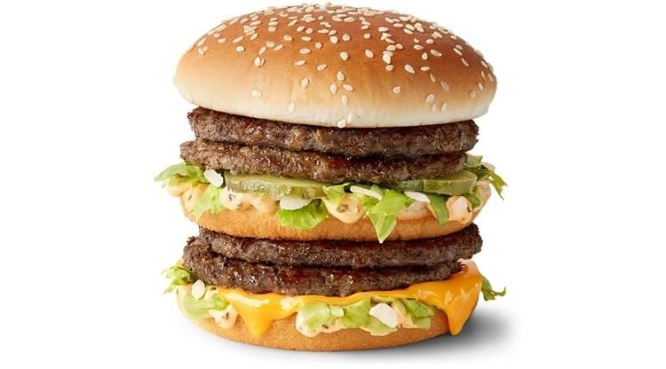 McDonald's Double Big Mac Nutrition Facts