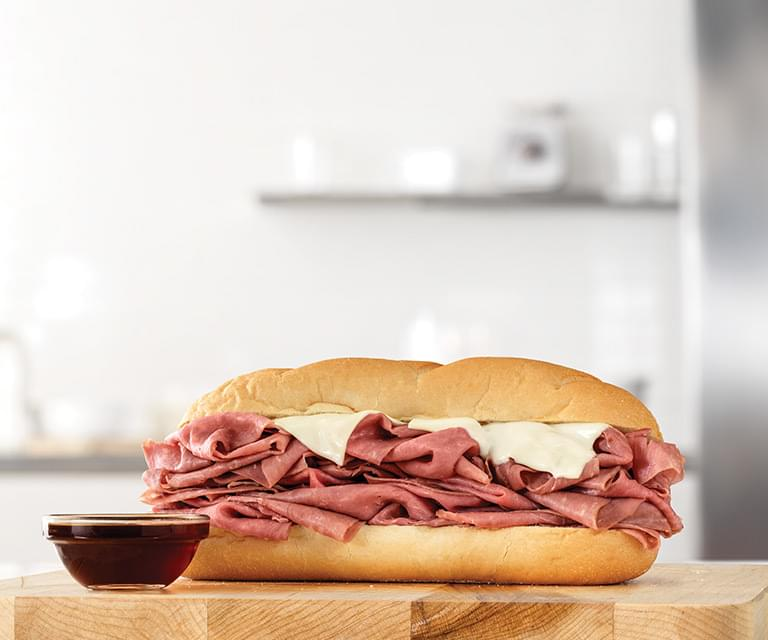 Arby's Half Pound French Dip & Swiss Nutrition Facts