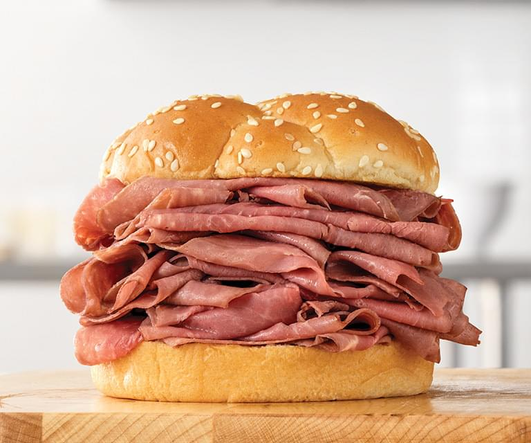 Arby's Double Roast Beef Nutrition Facts