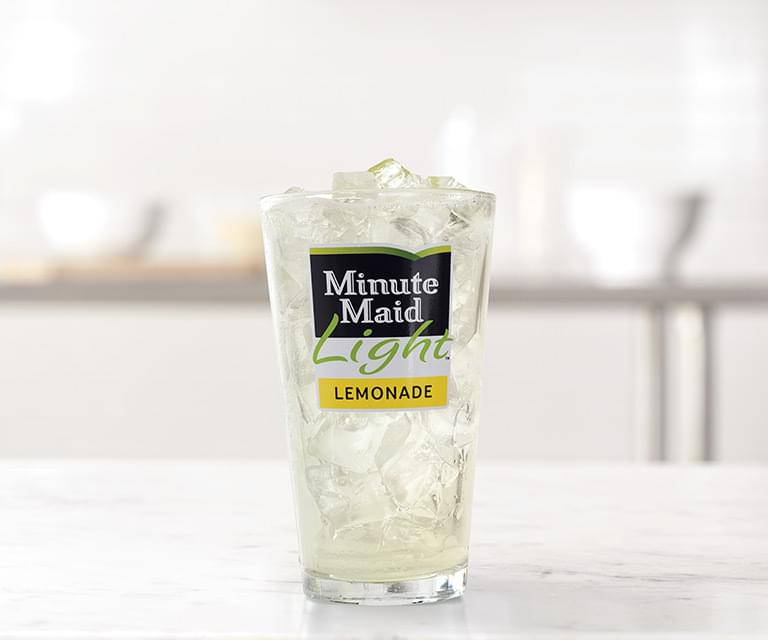 Arby's 30 oz Minute Maid Light Lemonade Nutrition Facts