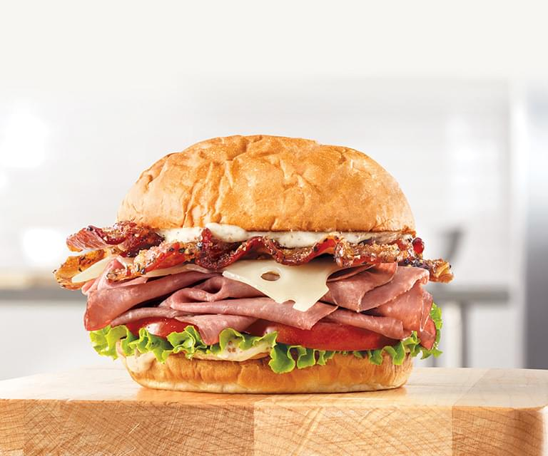 Arby's Brown Sugar Bacon Roast Beef Sandwich Nutrition Facts