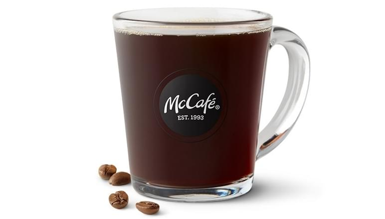 McDonald's Large Coffee Nutrition Facts