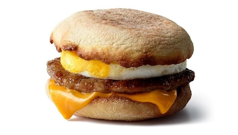 McDonald's Sausage McMuffin® with Egg Nutrition Facts