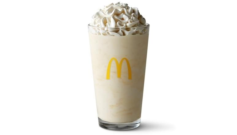 McDonald's Large Vanilla Shake Nutrition Facts