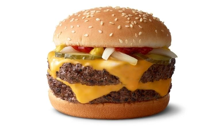 McDonald's Double Quarter Pounder with Cheese Nutrition Facts
