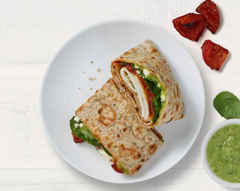 Panera Mediterranean Egg White Wrap Nutrition Facts