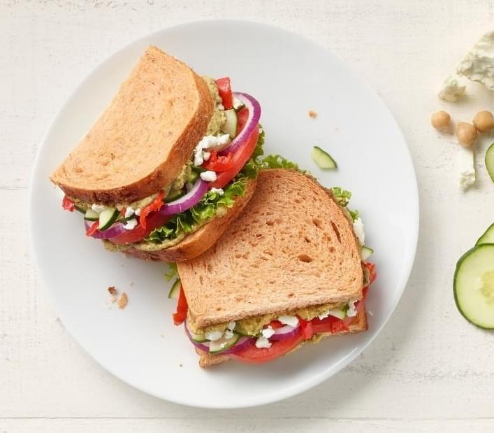 Panera Mediterranean Veggie Sandwich