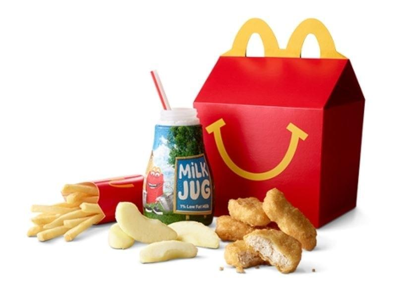 McDonald's Chicken McNuggets Happy Meal Nutrition Facts