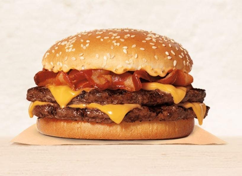 Burger King Double Stacker King Nutrition Facts