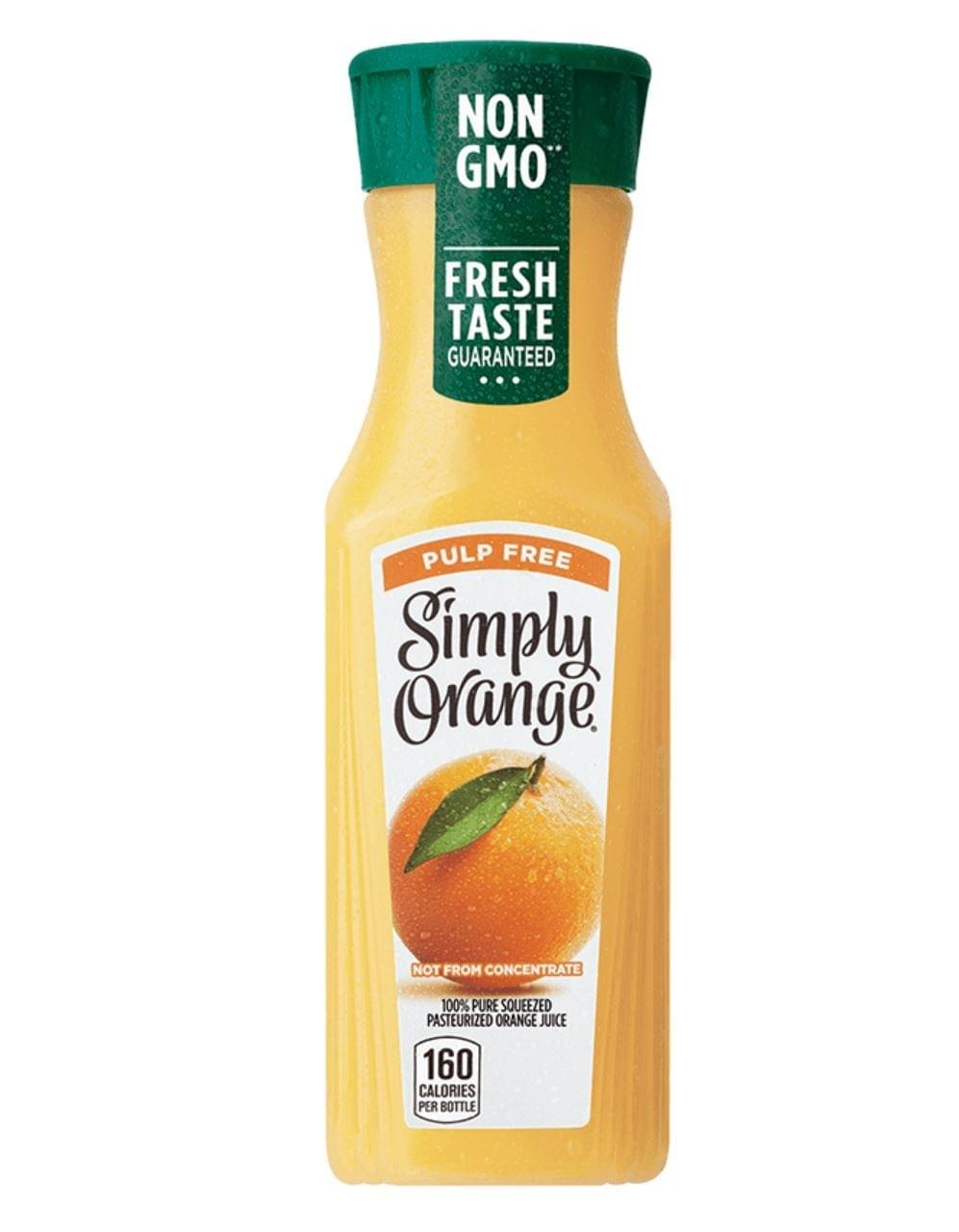 Chick-fil-A Simply Orange Juice Nutrition Facts