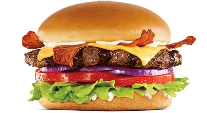 Hardee's Bacon Cheese Thickburger Nutrition Facts