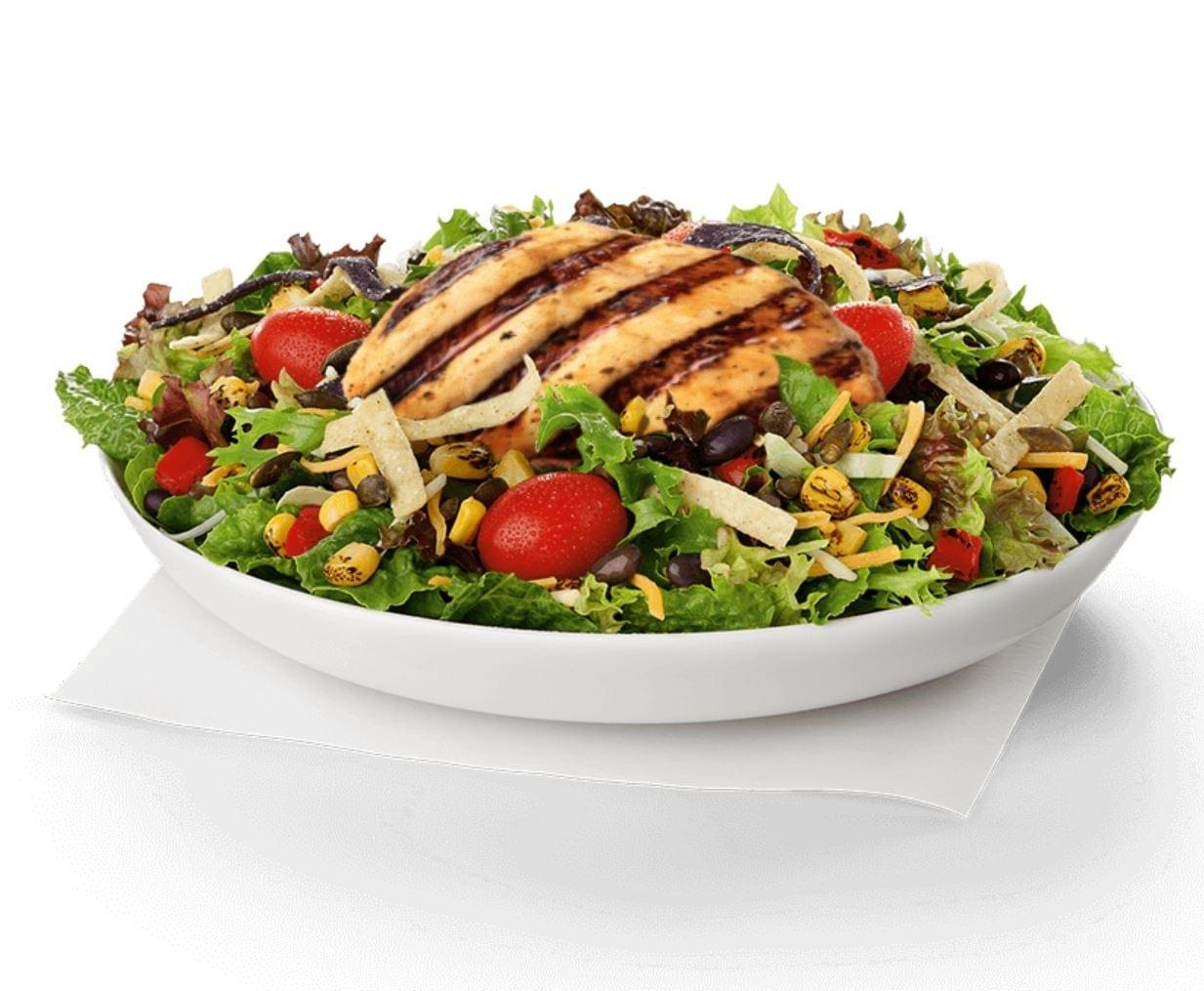 Chick-fil-A Spicy Southwest Salad with Grilled Chicken Nutrition Facts