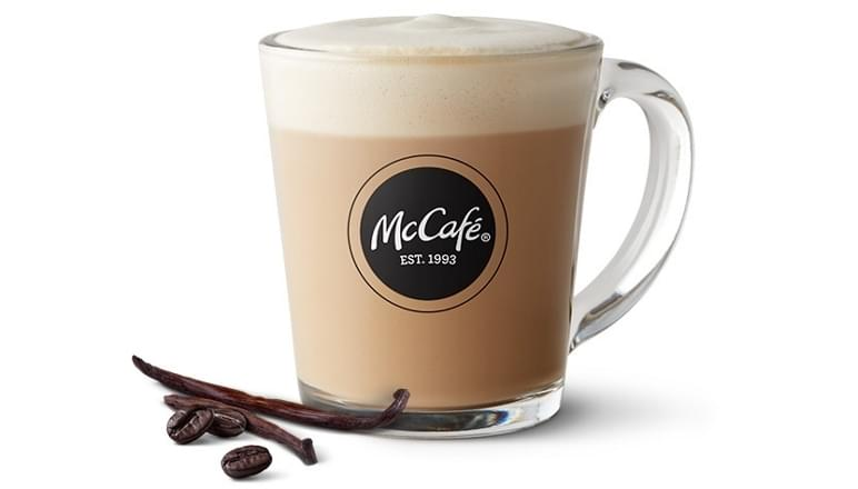 McDonald's Medium French Vanilla Cappuccino Nutrition Facts