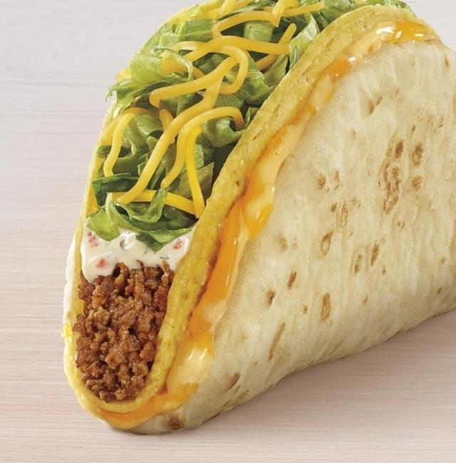 Taco Bell Cheesy Gordita Crunch Nutrition Facts