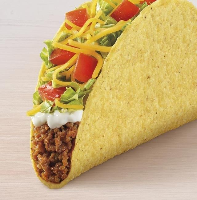 Taco Bell Crunchy Taco Supreme Nutrition Facts