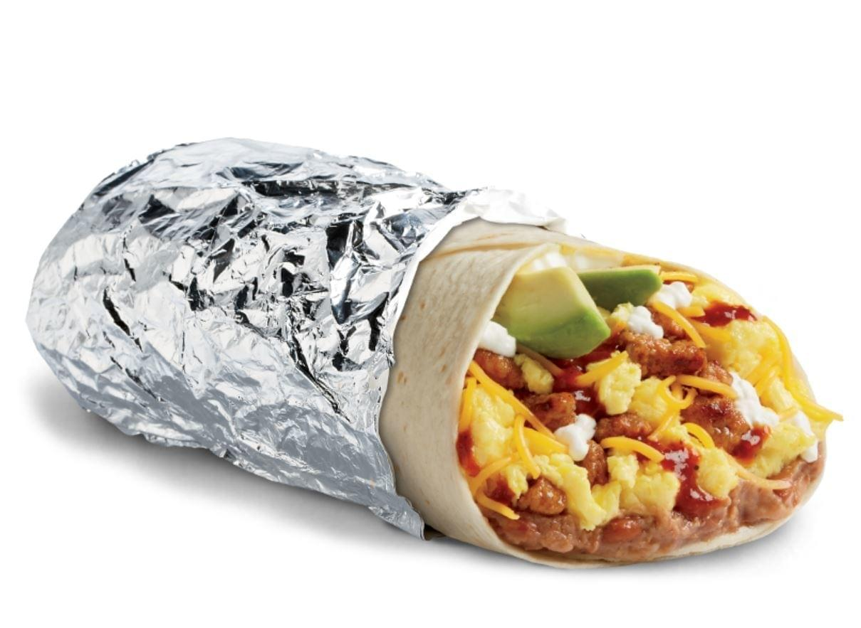 Del Taco Huevos Rancheros Epic Scrambler Burrito Nutrition Facts