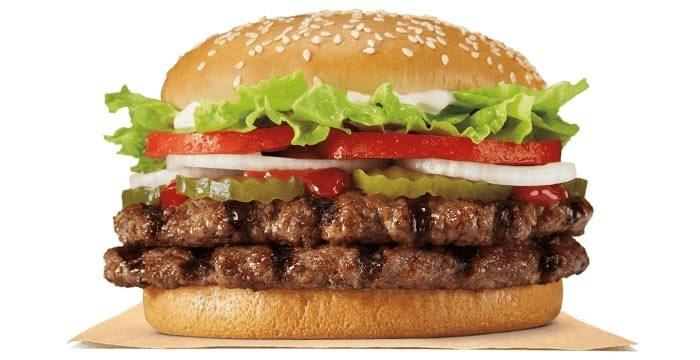 Burger King Double Whopper Nutrition Facts