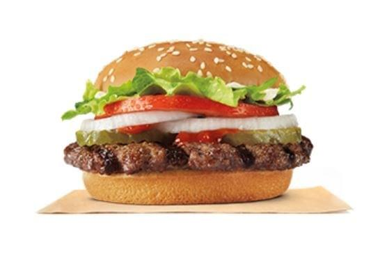 Burger King Whopper Jr Nutrition Facts